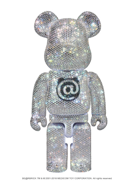 MEDICOM TOY CRYSTAL BE@RBRICK 2018