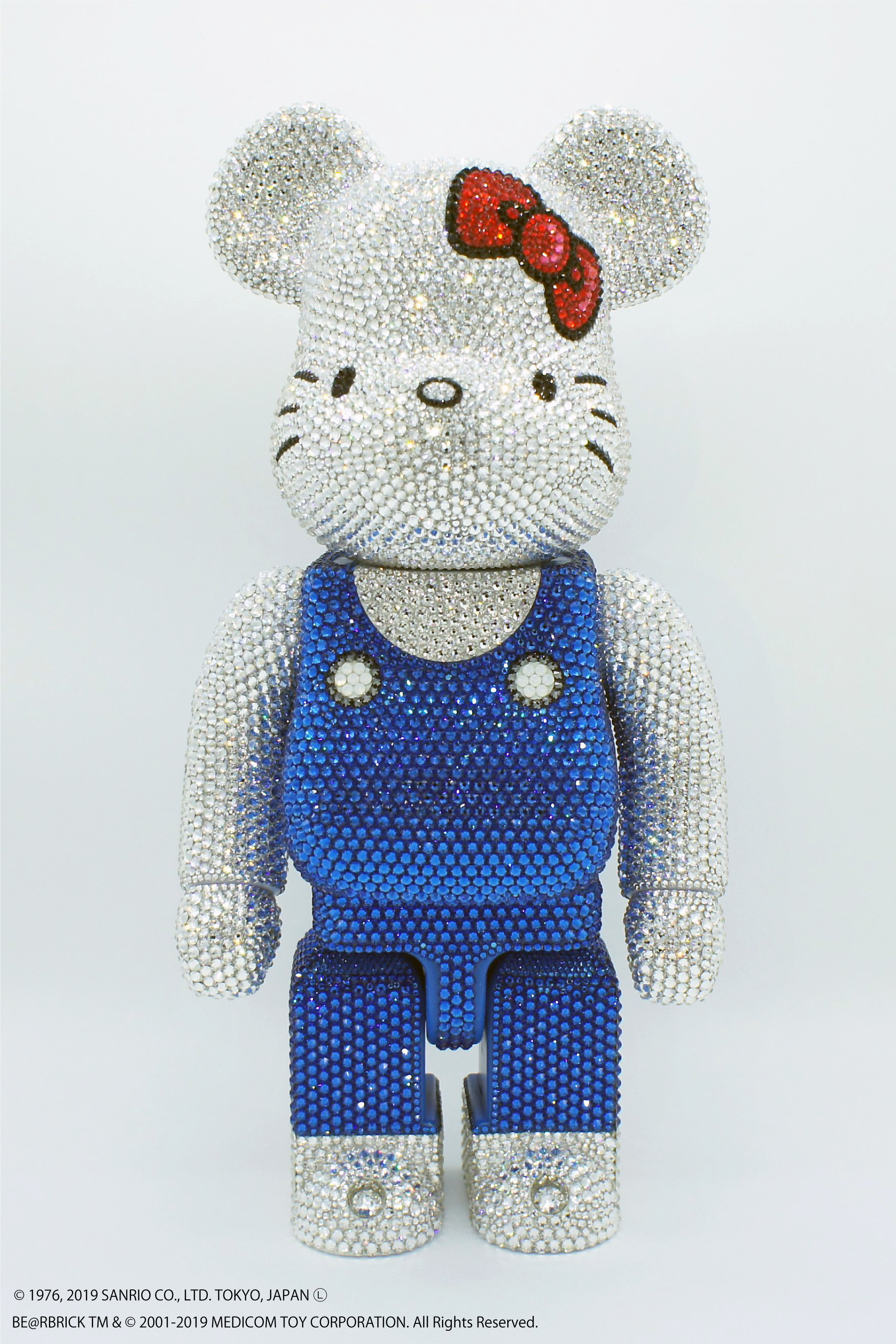 MEDICOM TOY CRYCTAL DECOLATE BE@RBRICK 400%