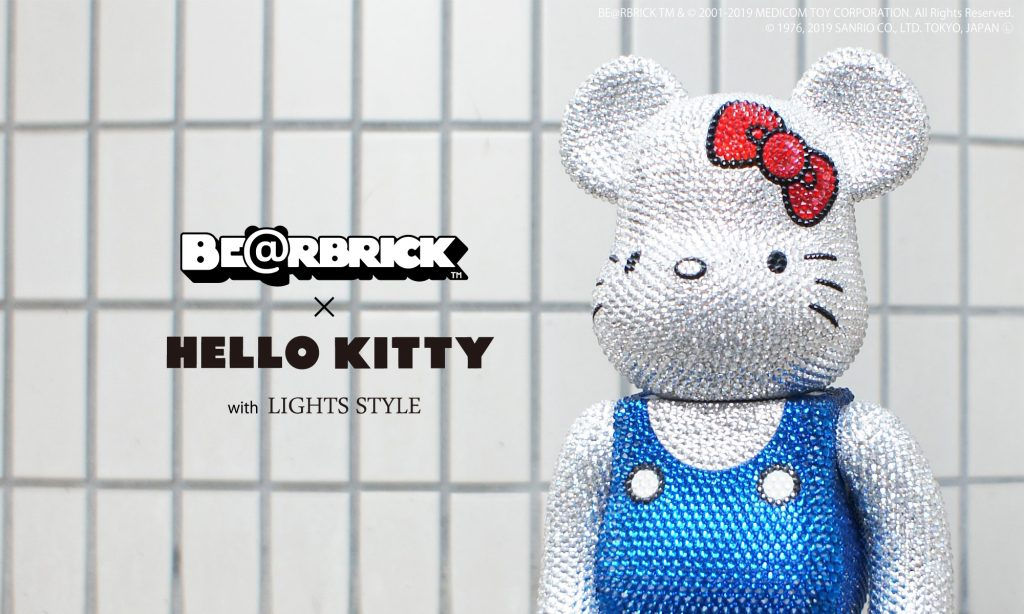 CRYSTALDECOLATE BE@RBRICK 400%